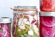legumes marinés ,aigre douce,condiments