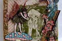 Scrap Decor / Projetos de scrap decor ou de scrapbook / by Laura Murgel Buffo