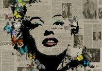Marilyn Monroe / The many arty takes on Marilyn Monroe...