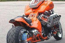 Boss Hoss Motorcycle