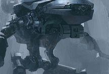 Veihicle concept art / Vehicles concept art