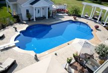 Our Pool Installations / In-ground pools are our specialty! Here are previous customers whose dreams we made come true. Looking for your own dream pool? Visit our website, or stop by our location today!