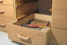 woden drawers