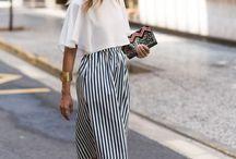 Simple urban fashion / simple & chic