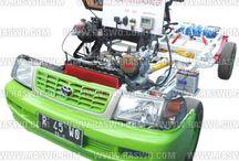 Car Trainer Toyota Kijang 7K EFI / Car Trainer Toyota Kijang 7K EFI