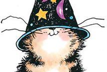 Penny Black,gatos