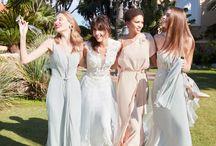 Abiti per Bridesmaid e damigelle di Alessandra Rinaudo 2018