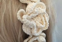 Headband crochet knit