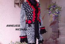 CROCHET CARDIGANS & COATS / Hand crocheted  cardigans & coats UNIQUE DESIGN
