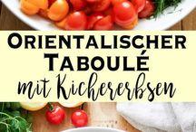 Kirchererbsen-Taboulé