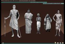Histoire du costume-antiquité / Documentation costume antiquité égyptienne'grecque et romaine