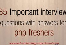 PHP Interview Questions and Answers For Freshers / PHP Technical Interview Questions And Answers For Fresher And Experienced
