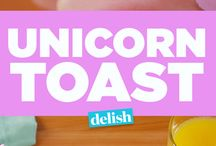 Dessert Recipes -  for Super Fun Sweets / Super Fun Sweets, Desserts, and Drinks. Unicorn Fun Food Ideas