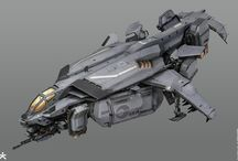 scifi enginery