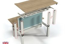 Sit to Stand Desking / Sit to stand desking is the future for a healthy workplace. It is an  innovative way of working that is simple to adjust and looks great in the office environment. Call us today on 01708 755666.