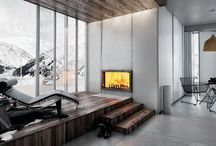 Atra fireplace