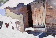 maleri av hus
