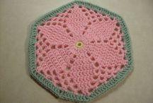Granny hexagonal garden square