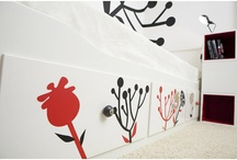 Blooming Straws / wall decals - design by lepeeto