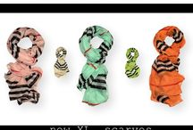 New scarves / We love scarves :)