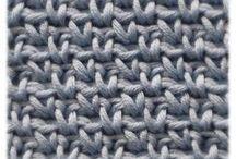 Haken, breien: technieken en steken