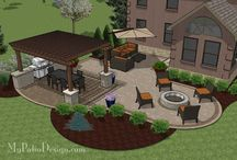 Outdoor Patio Layouts / by Donna Nowak