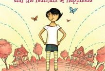 Cody and the Fountain of Happiness / My first book for younger middle grade readers. The first in a series, illustrated by the wonderful Eliza Wheeler. And now, coming in April, Cody's further adventures: Cody and the Mysteries of the Universe!