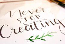 #NeverStopCreating