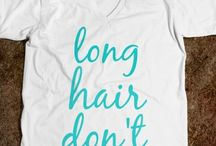 Long hair don't care!!! Me!!!! / by Ashley Gilio