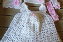 My Crochet Projects / I have always had a passion for crocheting, especially Baby clothes, blankets, doggie jerseys etc.