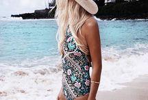 Summer fashion / Summer fashion , boho, beach fashion, swimwear , resortwear, beachwear