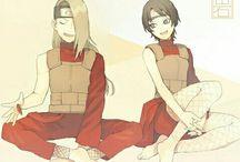 Deidara and Kurotsuchi