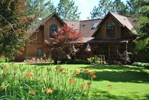 Bed & Breakfast / Secluded on 60 acres in the northern woods of Michigan. 7 uniquely themed, up-north decor rooms. Full breakfast and refreshments in the evening. Gardens, trails, and pool.