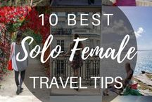 Travel | Solo Female Travel Tips / Tips about solo female travel | Things to know about solo female travel | Tips for travelling alone