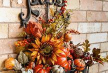Осенние украшения