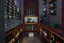 Metal and Wood Wine Cellars