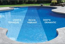 Swimming Pool Finishes / Find all the different types of pool finishes and designs to enhance your pool!
