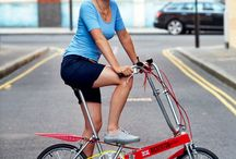 Bickerton / The bike was designed by Harry Bickerton and manufactured in the UK between 1971 and 1991. More info: http://www.bickertonportables.co.uk/wp-content/themes/twentytenfive/images/bickerton-story.pdf  https://www.youtube.com/watch?v=Jo8SngmVInY