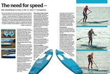 SUP Mag UK August 2015 issue / Stand up paddle boarding magazine