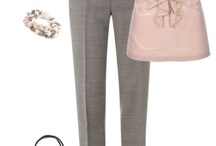 Outfits - Work - Grey Pants