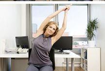 Entspannung im Büro / Übungen für die 5 Minuten Pause im Büro