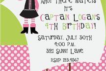 Laila's Birthday Ideas