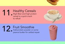 Pre-Workout and Post-Workout Food / The best post-workout foods, the best pre-workout foods, what to eat before exercising, what to eat after a workout, PWO, foods to boost exercise, foods to boost metabolism.