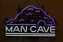Man Cave / Every good man deserves a man cave. Have you thought about surprising him with one? Check out these great items that will help you decorate his room to the nines.
