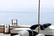 Terase pe plaja / Poze cu terase de pe plajele din interaga lume