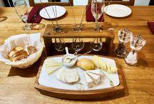 Restaurant / В долине Лефкадия есть свой ресторан, еду в котором готовят по принципу агроэклектики, то есть сезонности ингредиентов. Как только появляется тот или иной местный продукт, его сразу же вводят в меню. Впрочем, сыры локального производства, мясо и рыбу можно попробовать всегда!