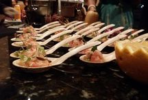 Gourmet Hors d'Oeuvres / Chef Stations, Butler Passed, Food Stations