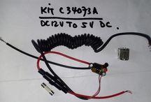 Switching Regulator DC 12V to DC5V 500 mA