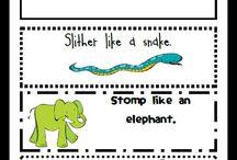 {Classroom Theme} Zoo