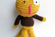 crocheted toys / by Valerie Healy